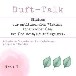 WebSeminar Duft Talk 7 - aromaMAMA - Sabrina Herber - Eliane Zimmermann