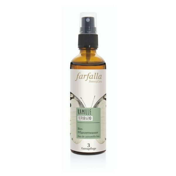 Kamille Bio-Pflanzenwasser von Farfalla bei ViVere Aromapflege