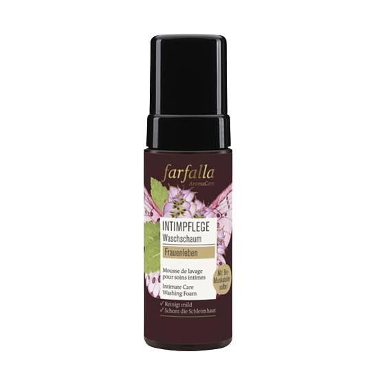 Frauenleben Intimpflege Waschschaum Farfalla - ViVere Aromapflege